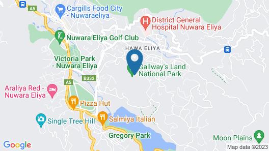 The Edgware Inn Map