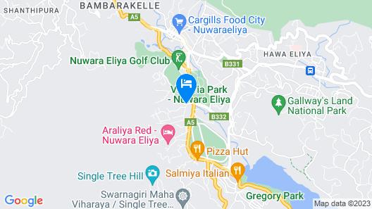 Araliya Green City Map
