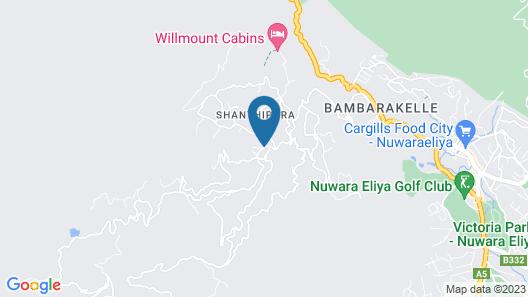 The Oliphant Nuwara Eliya Map