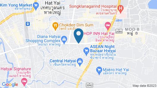 Buri Sriphu Hotel & Convention Centre Map