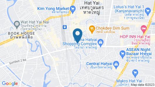 Centara Hotel Hat Yai Map