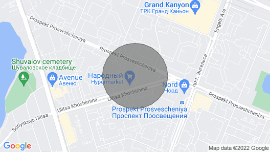 Apartment in the North of the City, Near the Metro Station Map