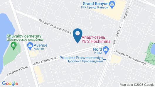 FlatHome24 Apart-hotel Khoshimina 16 Map