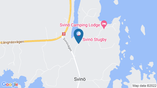 Svinö Stugby Map