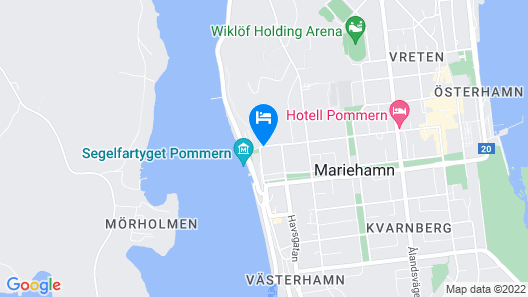 Hotell Cikada Map