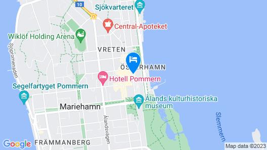 Hotell Arkipelag Map