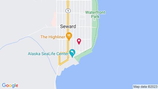Hotel Seward Map
