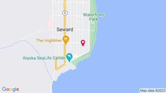 Sea Treasures Inn Map