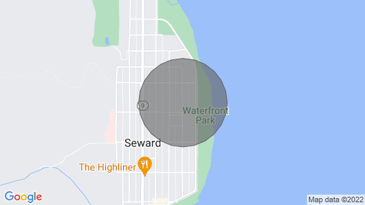 1 Block From The Beach! Map
