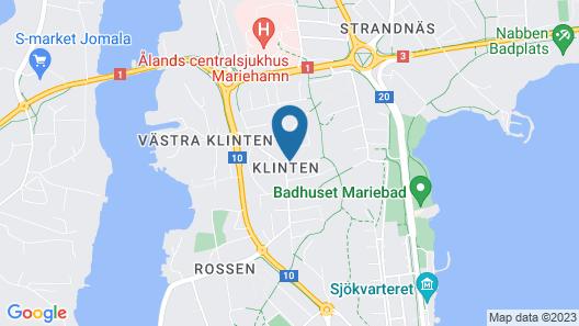 Klintvägen Apartments Map