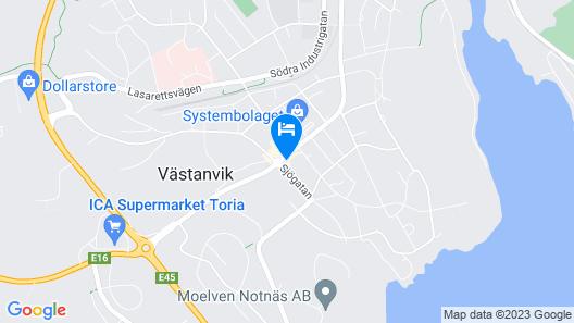 Hotell Björnidet Map