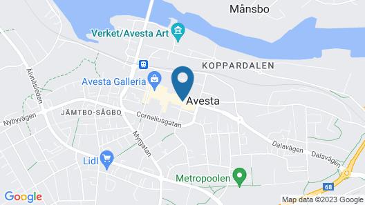 Avesta Stadshotell Map