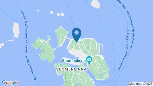 Hostel Suomenlinna Map