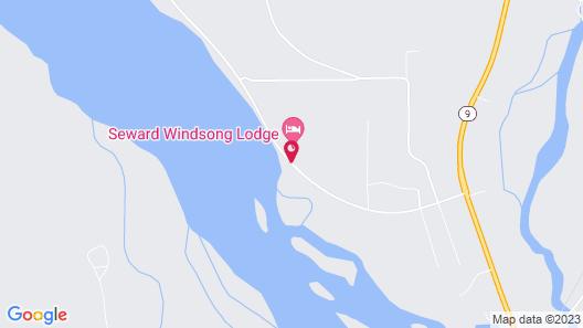 Seward Windsong Lodge Map