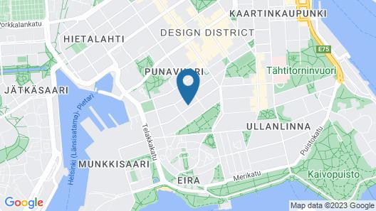 Urban Trendy Nordic Living Map