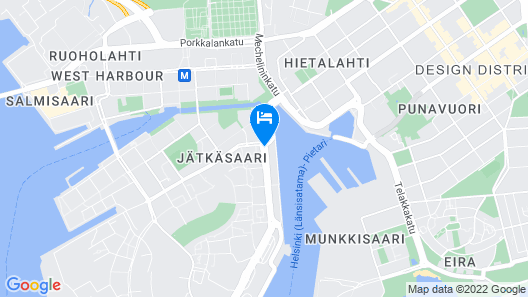 Clarion Hotel Helsinki Map