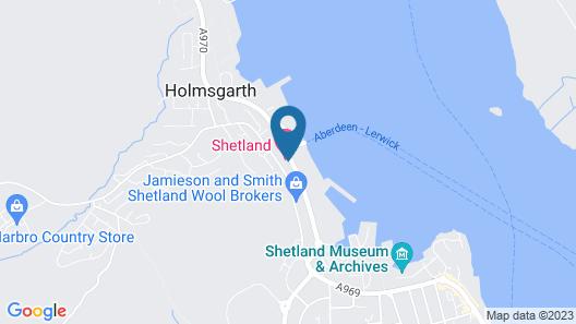 Shetland Hotel Map