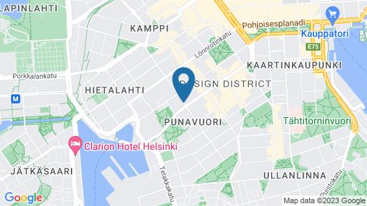 Radisson Blu Aleksanteri Hotel, Helsinki Map
