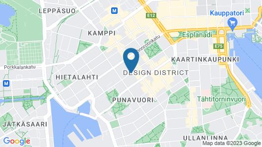 Hotel Indigo Helsinki - Boulevard Map