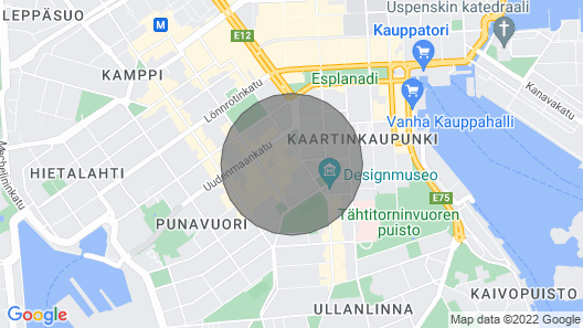 Studio Apartment With Sauna in Helsinki City Center - Iso Roobertinkatu 3-5 Map