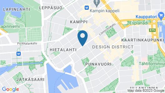 GLO Hotel Art Map
