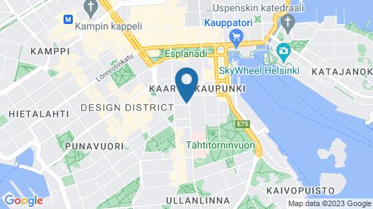 Hotel Lilla Roberts Map