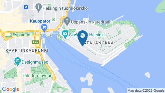 Scandic Grand Marina Map