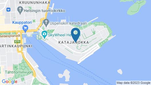 Hotel Katajanokka, Helsinki, A Tribute Portfolio Hotel Map