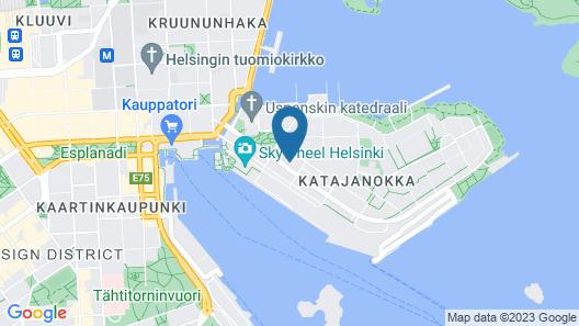 Noli Studios Katajanokka Map