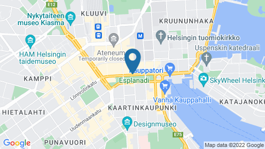 Hotel Kamp Map
