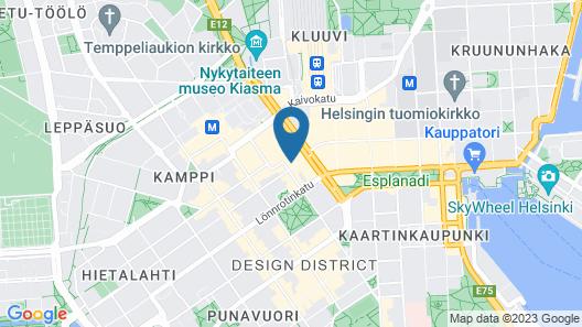 The Yard Hostel Map