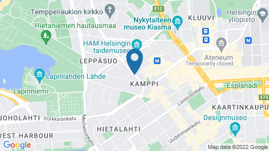 Radisson Blu Royal Hotel Helsinki Map