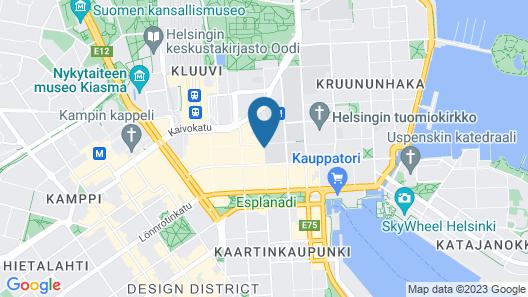 Original Sokos Hotel Helsinki Map