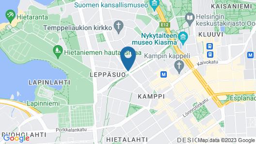 Hotel Helka Map