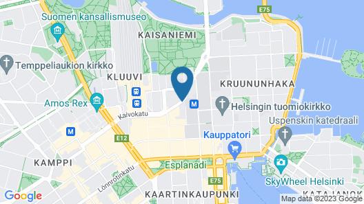Scandic Kaisaniemi Map