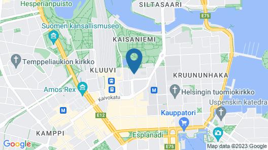 Radisson Blu Plaza Hotel, Helsinki Map