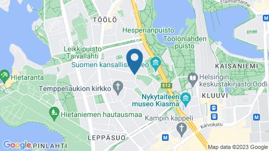 Hellsten Helsinki Parliament Map