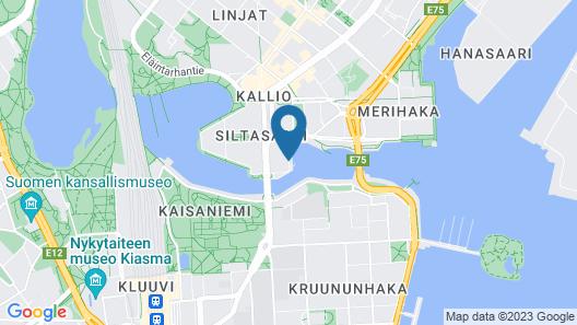 Hilton Helsinki Strand Map