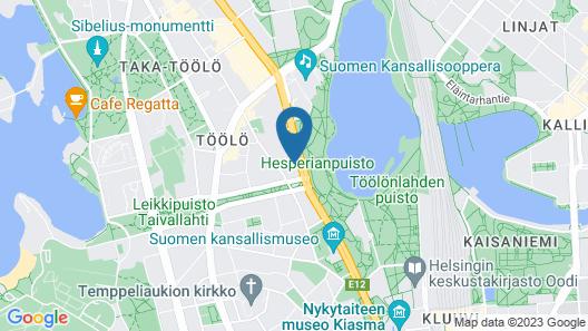 WeHost Dunckerinkatu 2 Map