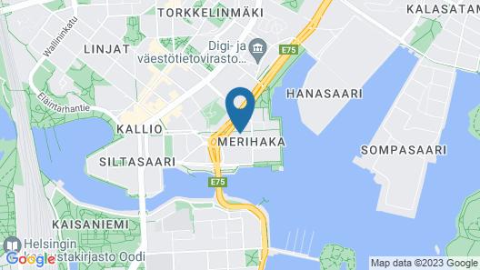 InnTourist Hostel Map