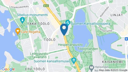 Crowne Plaza Helsinki, an IHG Hotel Map