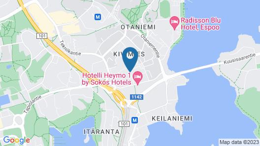 Forenom Hostel Espoo Otaniemi Map