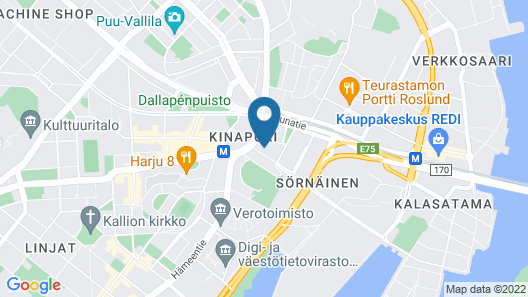 Noli Studios Sörnäinen Map