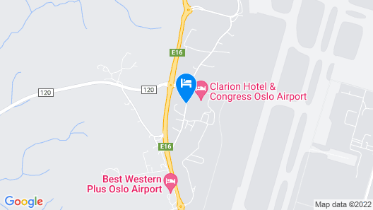 Clarion Hotel & Congress Oslo Airport Map