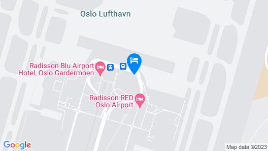 Radisson Blu Airport Hotel, Oslo Gardermoen Map