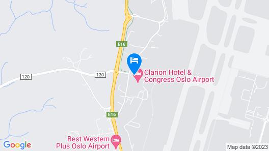 Comfort Hotel RunWay Map