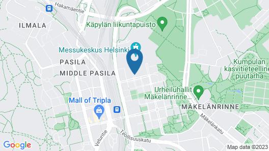 Holiday Inn Helsinki - Expo, an IHG Hotel Map
