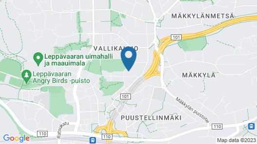 Forenom Aparthotel Espoo Kehä I Map