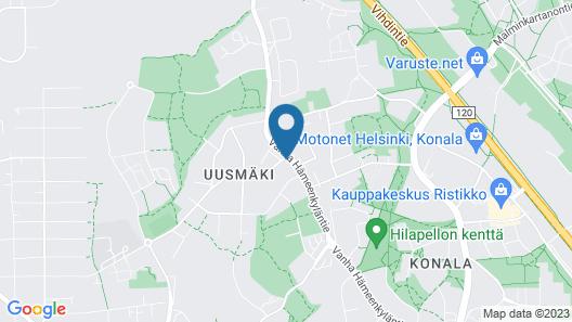 Spot Apartments  Konala Map