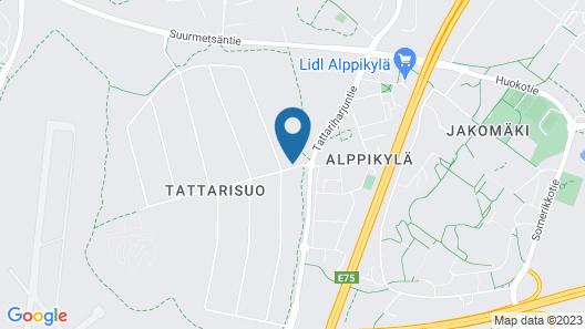 Arkadia Hotel & Hostel Map